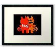 KAT HUG Framed Print