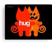 KAT HUG Canvas Print