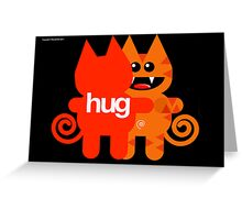 KAT HUG Greeting Card