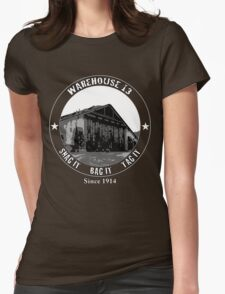Warehouse 13 Womens Fitted T-Shirt