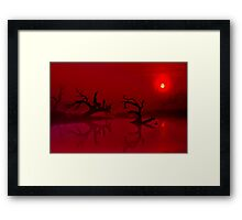 """Shrouded Dawning"" Framed Print"
