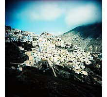 Village of Olympos Photographic Print