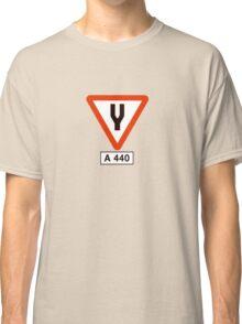 Tuning Fork - Music Tee Classic T-Shirt