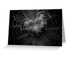 Love Life Fight Cancer Greeting Card