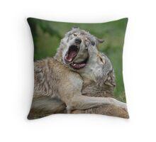 Beast Friends Forever Throw Pillow