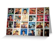 Elvis Collection............ Greeting Card