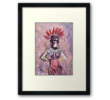 Beauty Queen Framed Print