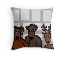 Wanted Throw Pillow