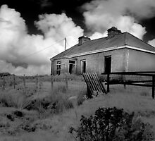 Deserted House - Lake Carrowmore, Mayo by Dave  Kennedy