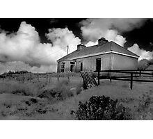 Deserted House - Lake Carrowmore, Mayo Photographic Print