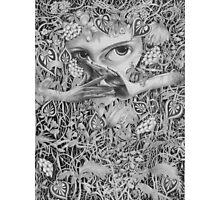 Heliotroped Photographic Print