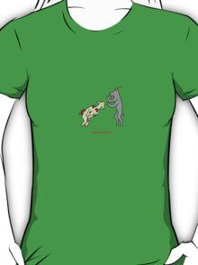 Goats Fight Dirty T-Shirt