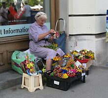 flower peddler by machka