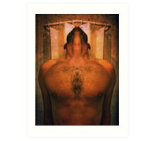 body abstract 1a Art Print