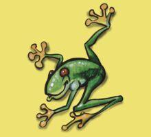 Tree Frog One Piece - Short Sleeve