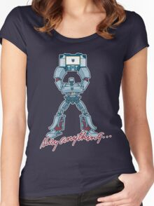 Slay Anything... Women's Fitted Scoop T-Shirt