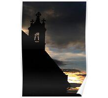 Church Spire Flordon Norfolk Poster