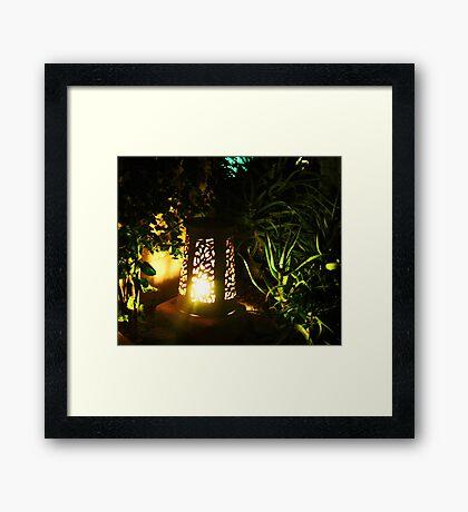 The Glow Framed Print