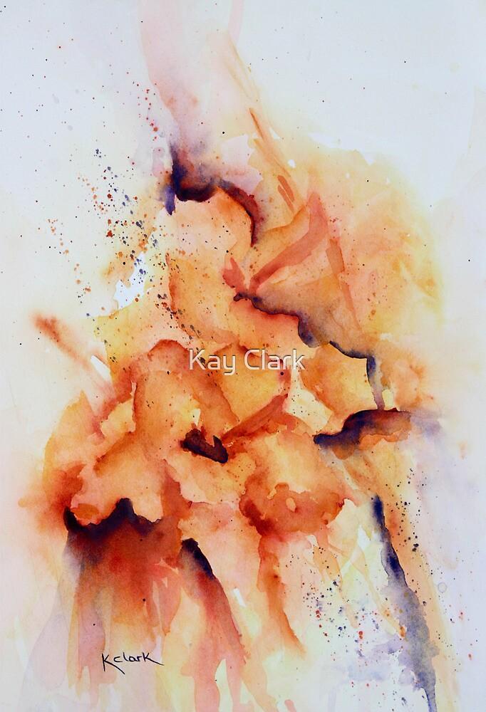 Beatrice Gladiolus by Kay Clark