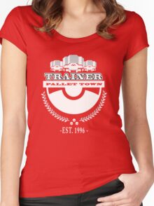 Pokemon Trainer Women's Fitted Scoop T-Shirt