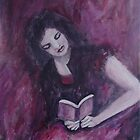 Girl reading by olivia-art