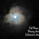 Full Moon Shining Thru by jsmusic