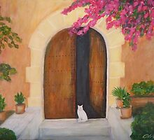 Mediterranean entrance by olivia-art