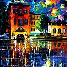 SLOW RIVER - LEONID AFREMOV by Leonid  Afremov