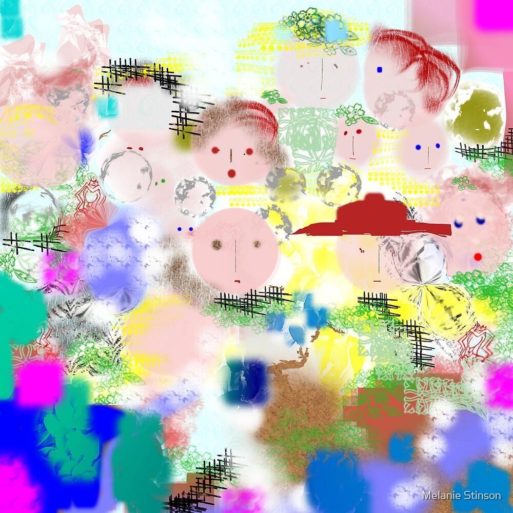 Many Faces by Melanie Stinson
