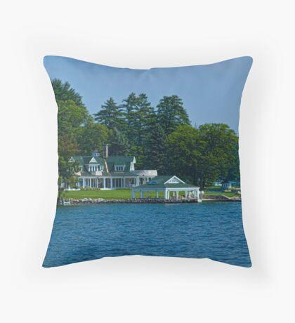 On Winnipesaukee Throw Pillow