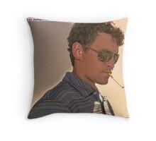 ON break Throw Pillow