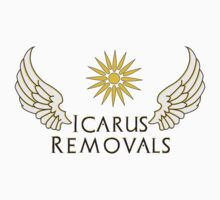 Icarus Removals (light version) Baby Tee