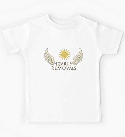 Icarus Removals (light version) Kids Tee