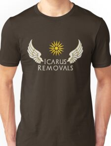 Icarus Removals (dark) Unisex T-Shirt