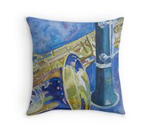 Reeds Betweeen Sets Throw Pillow