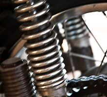 Motorcycle Springs by phil decocco