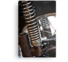 Motorcycle Springs Metal Print