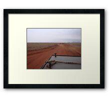 Kenyan Road Framed Print