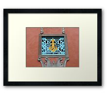 Portmeirion (detail) Framed Print