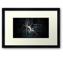 Cyborg Maintenance Framed Print