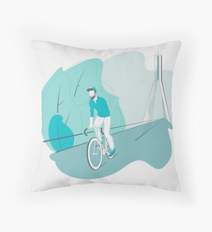 Riga Velo Throw Pillow