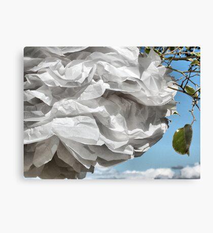 Paper White. Canvas Print