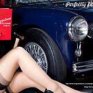 Healey Girl - Longstone Tyres by Larry Varley