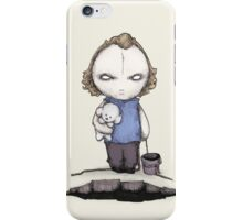 PUT THE PLUSHING LOTION IN THE PLUSHING BASKET iPhone Case/Skin