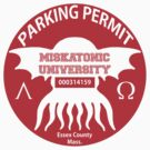Miskatonic University Parking Permit by Hedrin