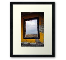 Picture Window Framed Print