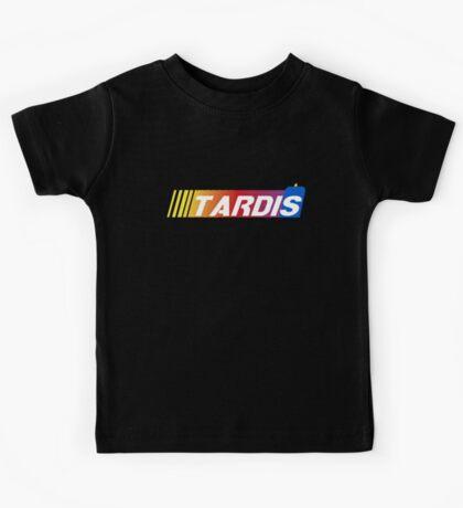 TARDIS Racing Kids Tee