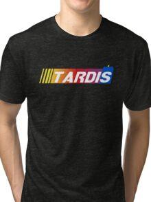 TARDIS Racing Tri-blend T-Shirt
