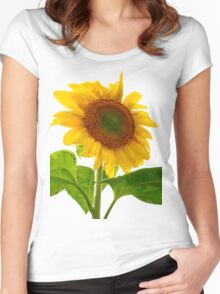 Prize Sunflower Women's Fitted Scoop T-Shirt