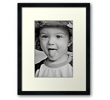 Little Boys... Framed Print